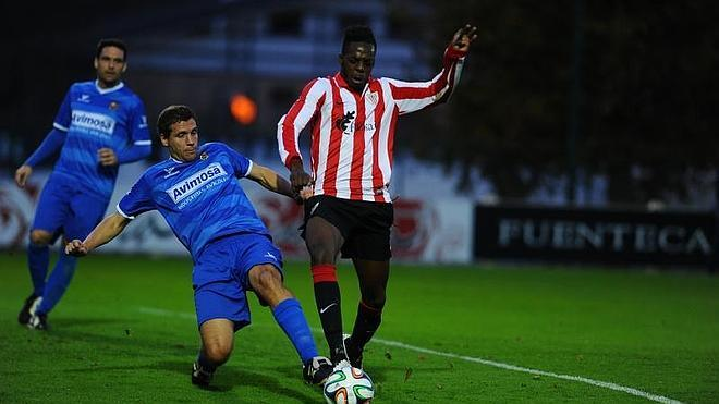 Williams marca en el empate del Bilbao Athletic
