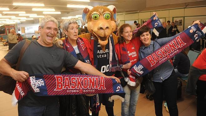 El Baskonia parte rumbo a la Final Four