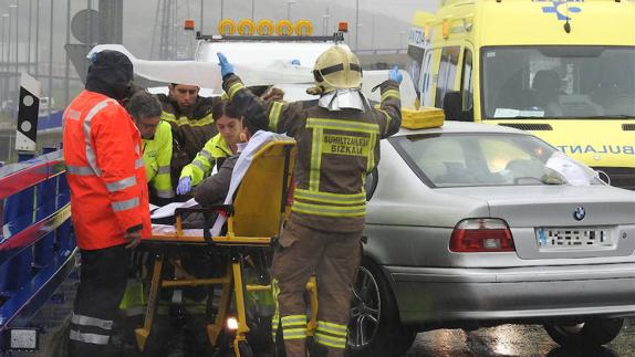 ACCIDENTE MÚLTIPLE EN ORTUELLA
