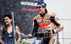 Un imperial Márquez sigue abusando en Sachsenring