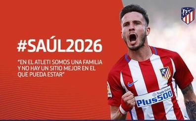 El Atlético blinda a Saúl