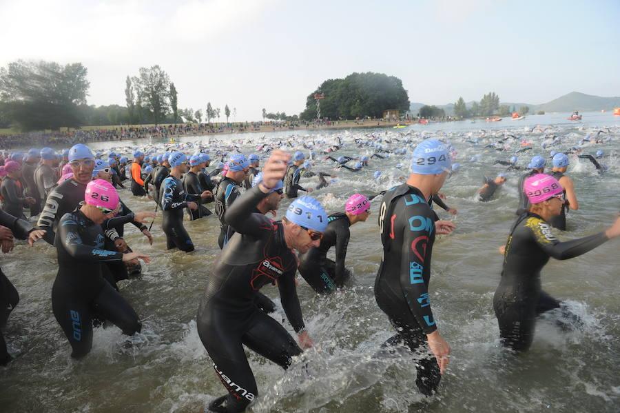 El Triathlon Vitoria, en imágenes