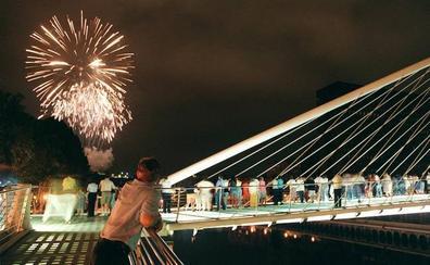 Pirotecnias de todo el mundo iluminarán Bilbao en Aste Nagusia