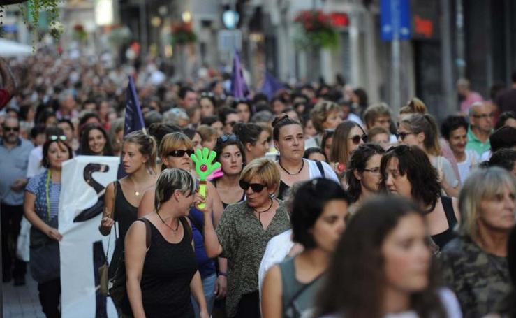 Eibar dice no a la violencia contra las mujeres