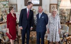 Felipe VI alienta un entendimiento entre España y Gran Bretaña sobre Gibraltar