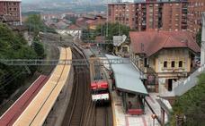 Basauri retoma la reivindicación de soterrar las vías del tren en Lehendakari Aguirre