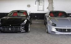 Adjudicados por 443.842 euros dos Ferraris donados por el rey Juan Carlos