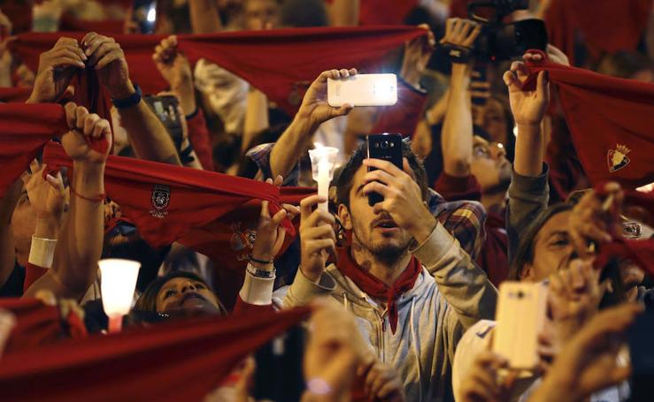 Pamplona se quita el pañuelico rojo