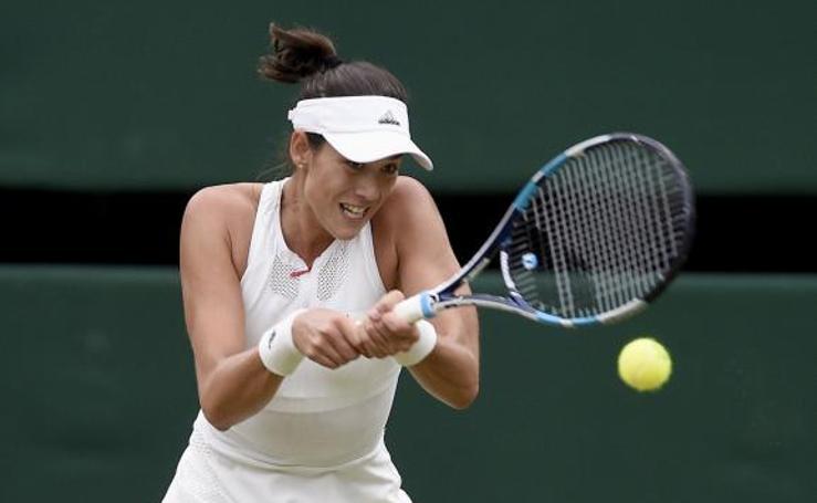 Las mejores imágenes de la final de Wimbledon 2017 entre Garbiñe Muguruza y Venus Williams