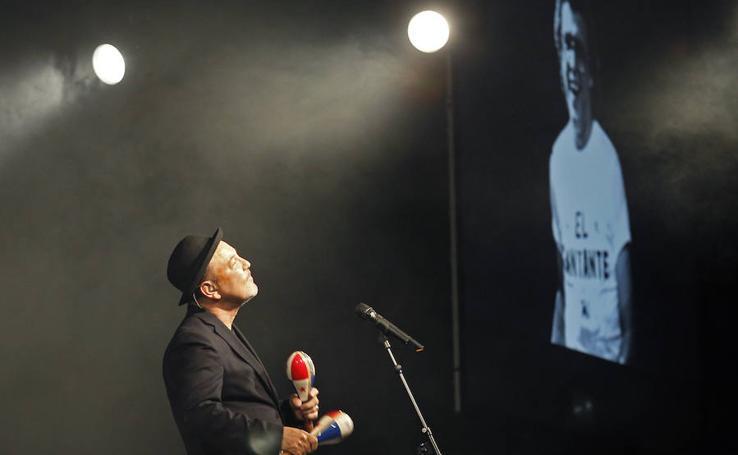 Rubén Blades en los ojos de Javier Mingueza