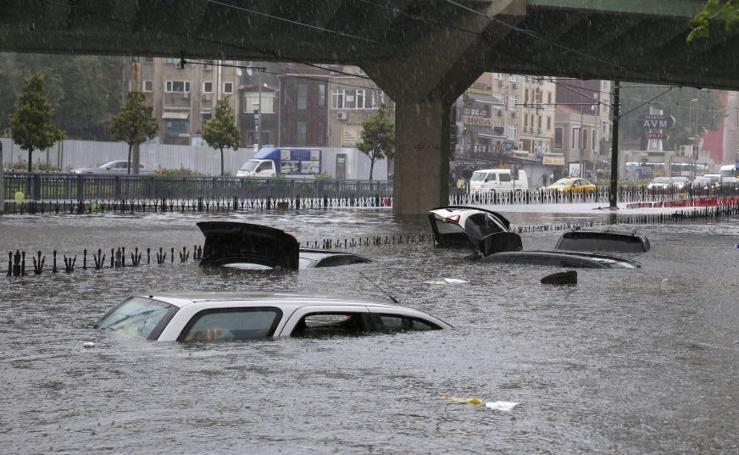 Estambul se ahoga