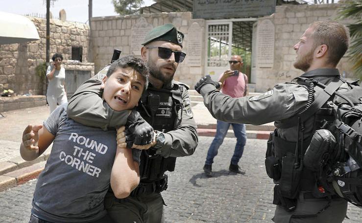'Día de la ira' en Palestina