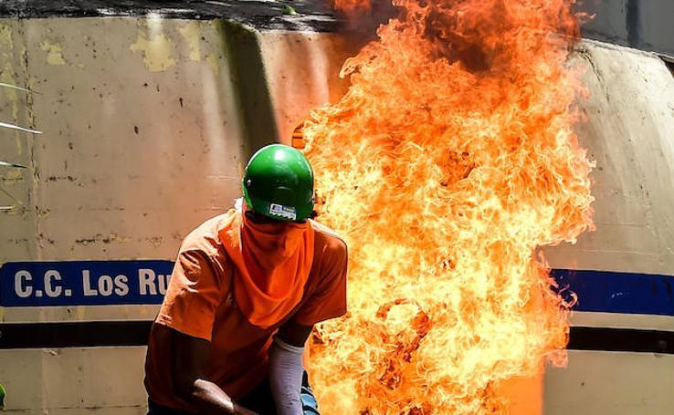 Alta tensión en Venezuela