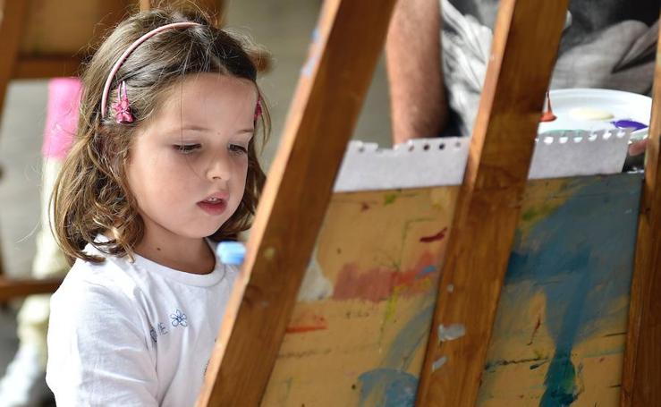 Santurtzi, unas fiestas con mucho arte
