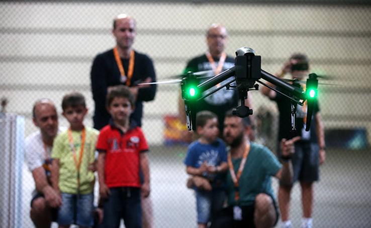 Drones y realidad virtual en la Euskal Encounter