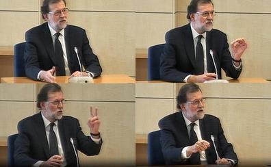 Rajoy se escuda en que no se ocupaba de la «contabilidad» del PP