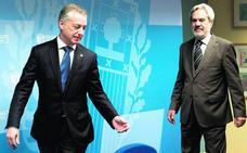 Urkullu admite tras reunirse con Rajoy «esperanza» en lograr los traspasos pendientes