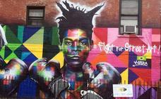 Basquiat: reconocido como nunca, pero más en la calle que en el museo