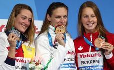 Mireia Belmonte se despide de los Mundiales con la plata en 400 estilos