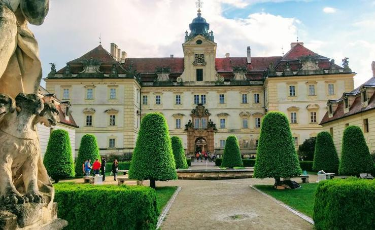Los palacios de Lednice y Valtice