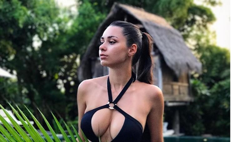 Helga Lovekaty, la modelo que causa furor en las redes sociales