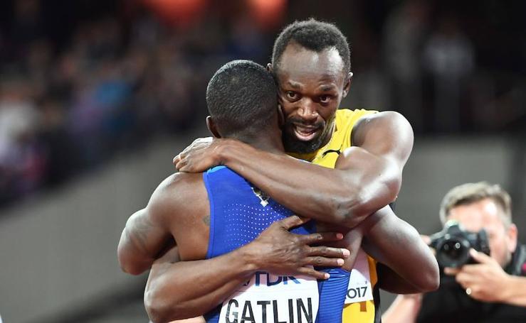 Bolt se despidió con una derrota