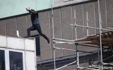 Accidente de Tom Cruise durante la grabación de 'Misión Imposible 6'