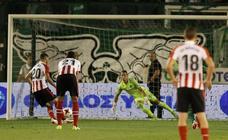 El Athletic remonta en Atenas ante un atrevido Panathinaikos