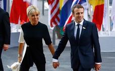 A Brigitte Macron no le preocupa la diferencia de edad