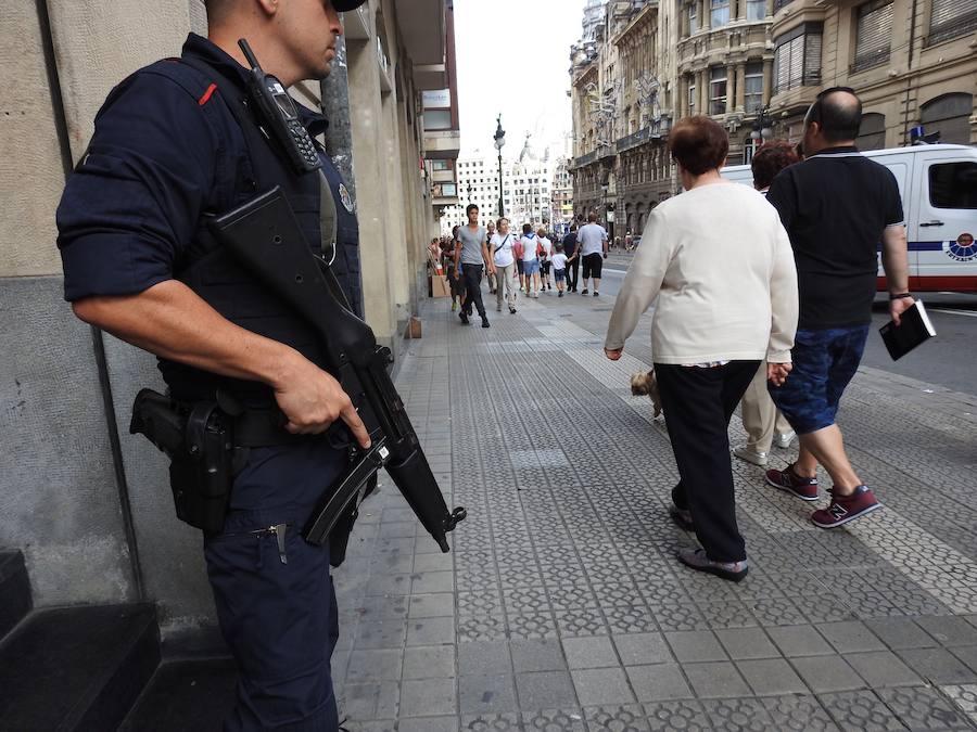 La Policía toma posiciones para garantizar la seguridad en Aste Nagusia ac9a2a8a677ce