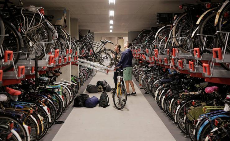 El parking de bicis más grande del mundo está en Holanda