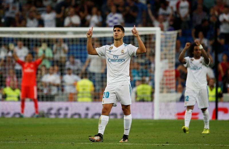 El Real Madrid-Valencia, en imágenes