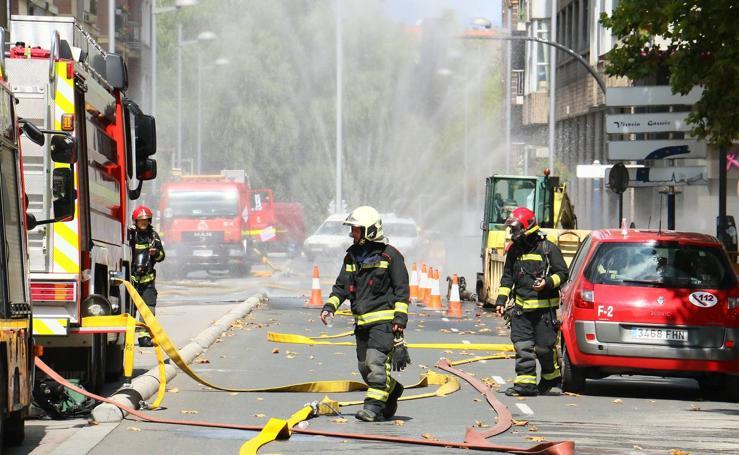 Una fuga de gas alarma a los vecinos de la calle Francia