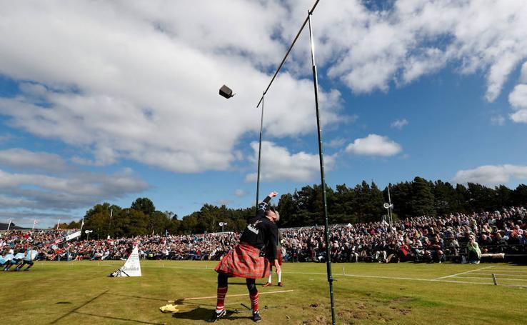 Escocia celebra sus 'herri kirolak'