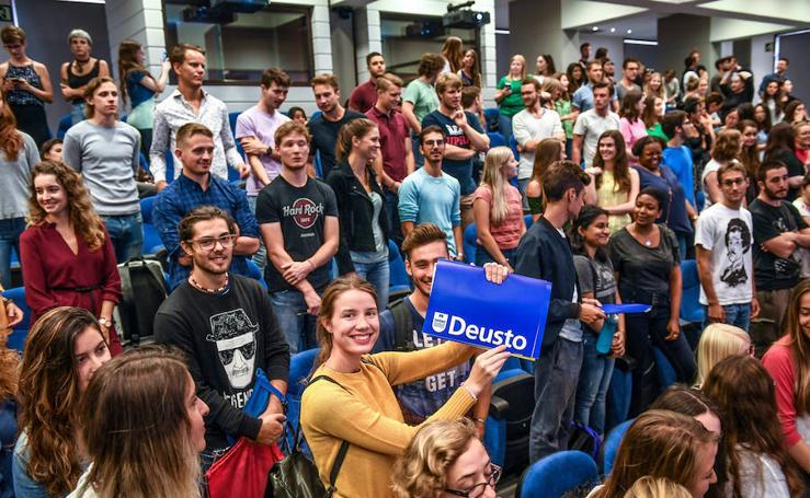 Desde Afganistán hasta Sri Lanka: alumnos de 45 países estudiarán en Deusto