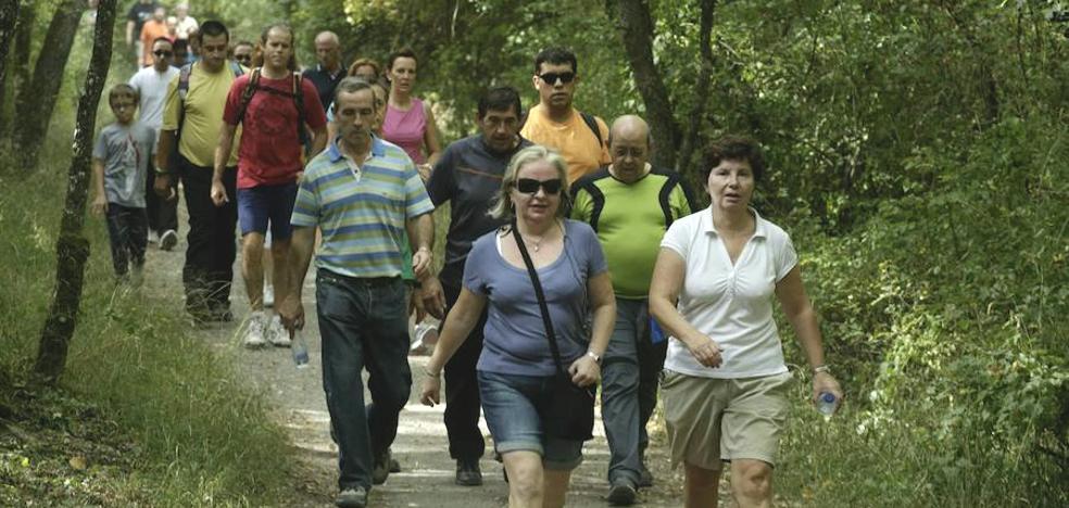 La marcha solidaria al bosque de Armentia adelanta media hora su salida, a las 10.30