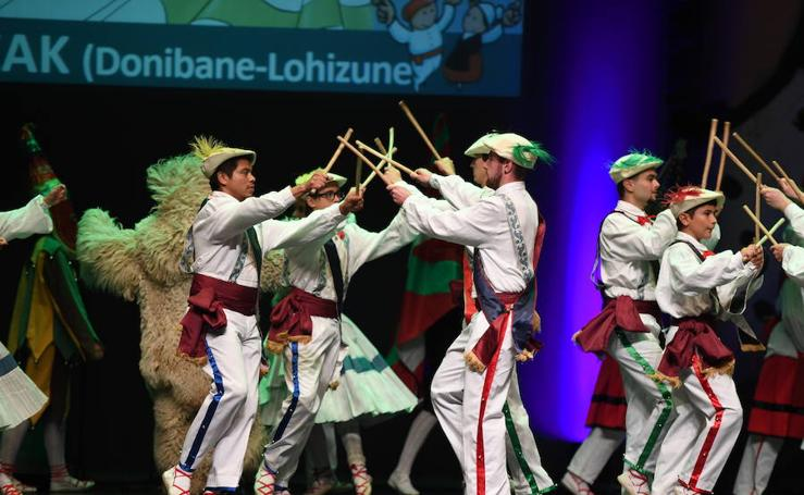 El folklore más exclusivo en Basauri