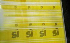 Incautan las planchas para elaborar la publicidad institucional del 1-O
