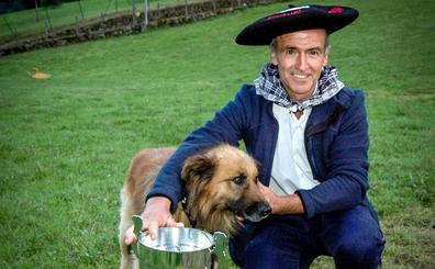'Jai', el mejor perro pastor vasco