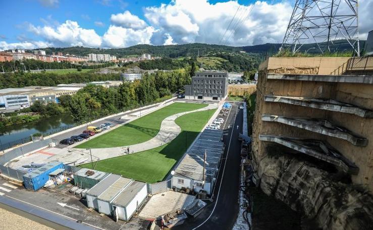 La planta de bombeo de Etxebarri permitirá a los bilbaínos beber agua del Nervión a partir de enero en caso de graves sequías