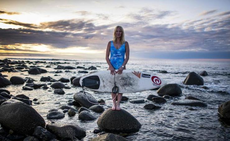 Surfeando las olas del Ártico