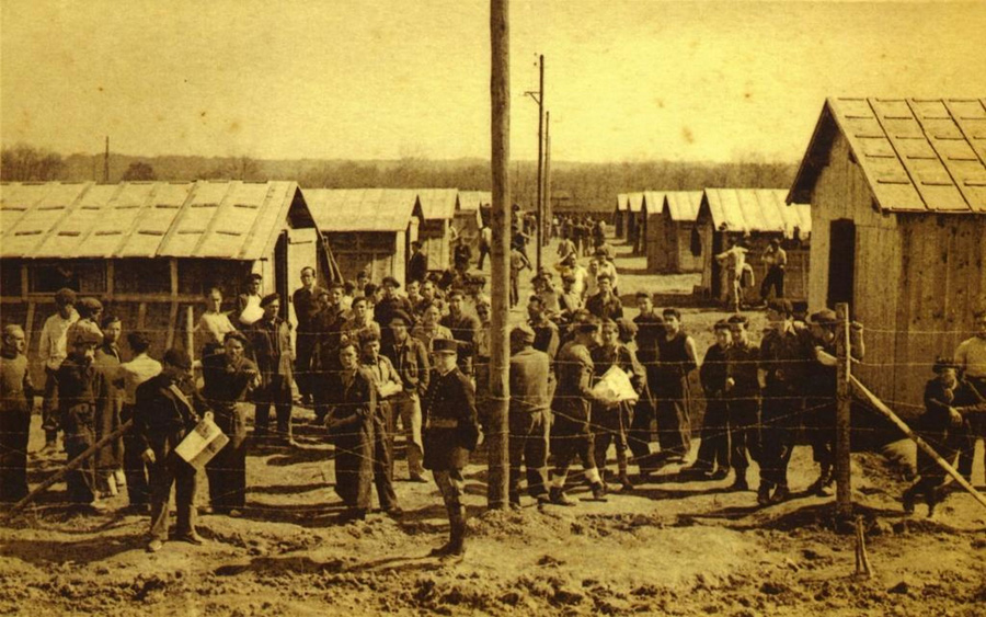 Así era Gurs, el campo de refugiados de los vascos