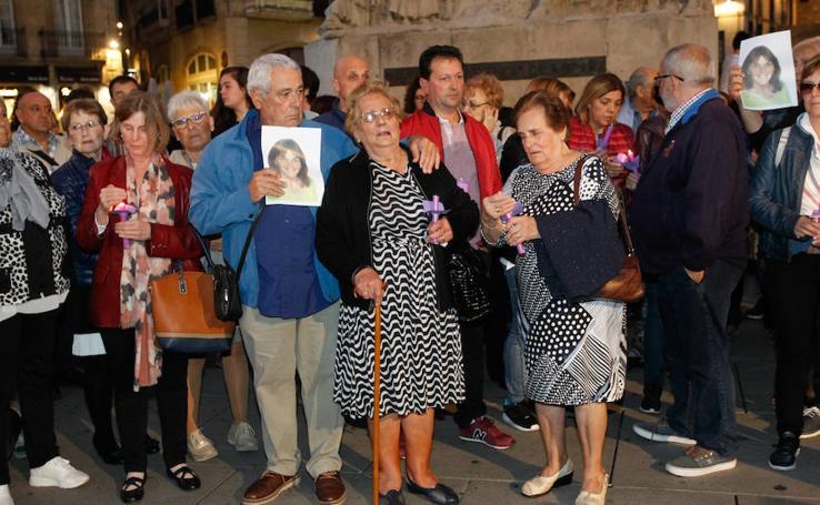 Lantarón y Vitoria muestran su dolor e indignación por el asesinato de Ana Belén Jiménez