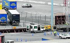 El Puerto justifica el muro contra los polizones para «velar por la seguridad del recinto»