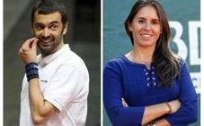 Sergi Bruguera y Anabel Medina, capitanes de Copa Davis y Copa Federación