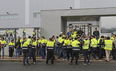 Trabajadores de General Electric de Ortuella inician una huelga indefinida contra el ERE
