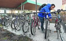 El aparcabicis cubierto de la estación se abre el martes y será gratuito hasta final de año