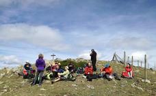 Ruta La Cuña (2.008 m.), Guilicerra (1.931 m.), Chilizarrias (1.825 m.) y Rezuria (1.501 m.)