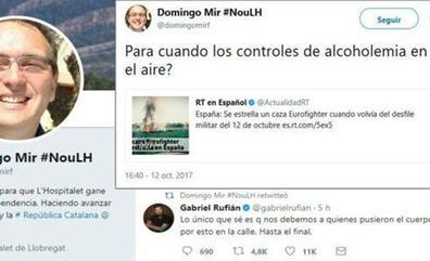 ERC suspende al concejal que se burló de la muerte del piloto del Eurofighter: «¿Para cuándo los controles de alcoholemia en el aire?»