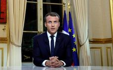 Macron expulsará a todo extranjero irregular que cometa un delito